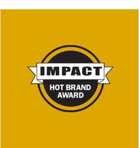 Hot brand award