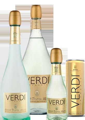 Verdi bottles & cans